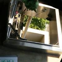 避難はしごの点検、業者さんは使命感いっぱいでした!