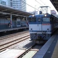 直流電気機関車 EF65-2074【武蔵野線:西国分寺駅】 2017.5.2(4)撮り鉄 車両鉄