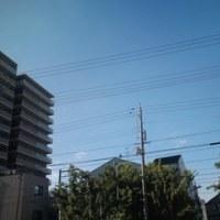 今日も良い天気だ