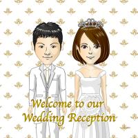 手作り結婚式に利用できる似顔絵メーカー