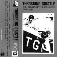 Throbbing Gristle -At Goldsmith's College 1979年作品