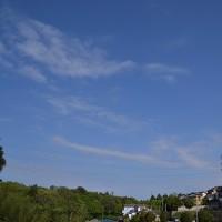 4月24日、午前6時~7時過ぎの空模様