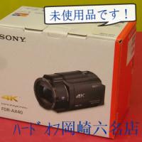 未使用のビデオカメラ