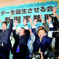 官邸、自民党、電力業界・財界の激烈な締め付けをはね返し、市民と野党による歴史的な大勝利。