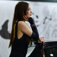 2017 Auto Messe-3 柊木マリコ