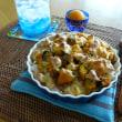 かぼちゃ&ウインナーのゴルゴンゾーラチーズドリア