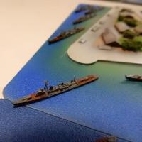 1/3000 横須賀軍港(3)「D氏宅訪問 艦船模型取材」 2016.DEC