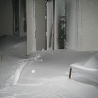 吹雪ました(>_<)