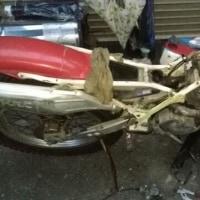 Trial bike整備