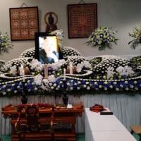 田中雅博師の葬儀