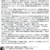 カジノ賭博合法化案の審議入りに抗議する声明/カジノ問題を考える大阪ネットワーク 代表:阪南大学教授 桜田照雄