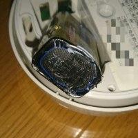 火災報知器の電池切れ