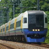 2017年6月20日 総武本線 物井 255系 Be-03編成 しおさい 3号