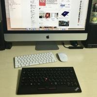デスクトップPCのキーボード