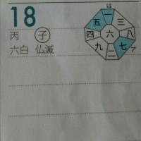 六白金星中宮の日