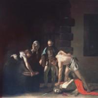 「聖ヨハネの斬首」 カラヴァッジョ