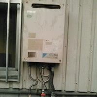 ガス給湯器、水漏れ修理 198円