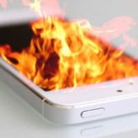 中国でのiPhone発火!?