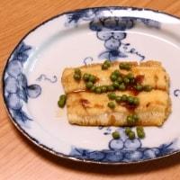 ミートソーススパゲッティ&鱧の山椒風味