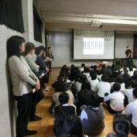 10月26日 情報教育  生徒会立会演説会・選挙