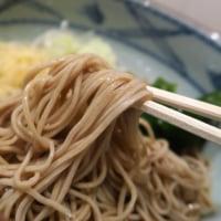 山吹@新宿御苑 「朝食サービスセット たぬきそばぶっかけ+カレー」