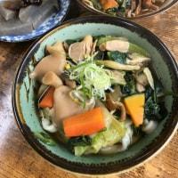 今日のお昼ご飯 ねっこ食堂の野菜うどん