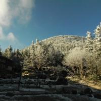蓼科山荘より 冬の始まり