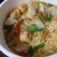 【油揚げめん】日清 リッチカップヌードル 贅沢だしすっぽんスープ味