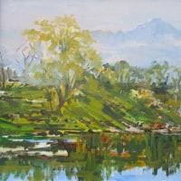 安曇野白鳥湖