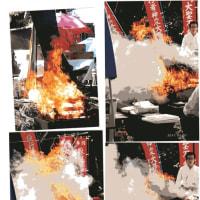 ゼロ磁場 西日本一 氣パワー・開運引き寄せスポット 5月護摩祭り火炎写真(5月19日)