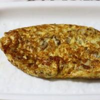蓮根入り鶏団子のあんかけうどん&烏賊とセロリの中華炒め&ホットドッグ&オムレツ