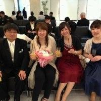 卒業生の結婚式・披露宴にお招きいただきました(2016年4月30日)