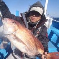 2月19日(日)一つテンヤマダイの釣果