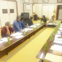 小田西地区活動組織役員会に出席しました