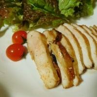 鶏胸肉の照り焼きと野菜たっぷり料理☆