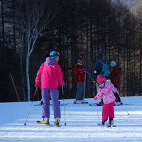 スキー♪ 家族で楽しい休日♪