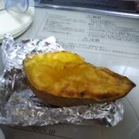 安納芋の焼き芋でケーキを作ったよ