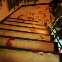 ハロウィンの階段