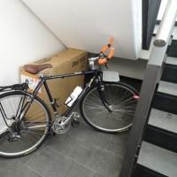 自転車共々無事チェックイン