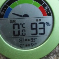 平成29年3月28日・今朝の東祖谷0.0℃
