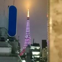 【番外】サクラ開花の東京タワー