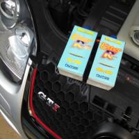 VW GOLF5/GTIのオイル交換です。