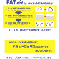 伝説のFAT・OFFメールナビ 6月20日(月)スタートクラス募集!!