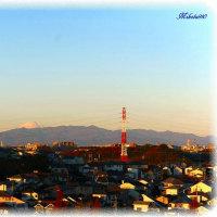てっぺんだけの富士山 12/10