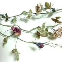 布花レッスンの花たち