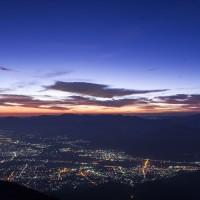 夜明けの絶景