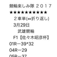 3/29 武雄競輪 初日