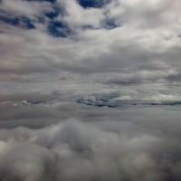 機上からの眺め、雲海他
