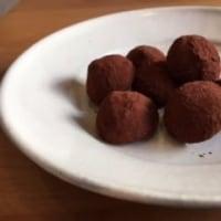 「ミルクチョコレートのトリュフショコラ」