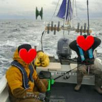 戸井沖にサメ釣り!